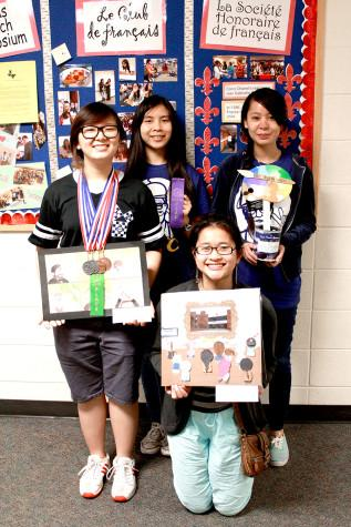French Students Compete in Symposium