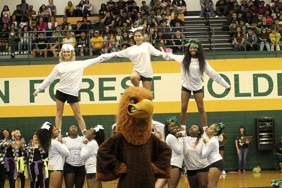 Klein+Forest+Cheerleaders+Homecoming+Spirit