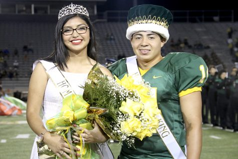 Our Klein Forest 2016 Homecoming King and Queen