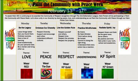Paint the Community with Peace Week!