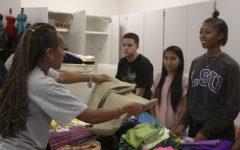 Moye-Washingting talks about new CTE classroom