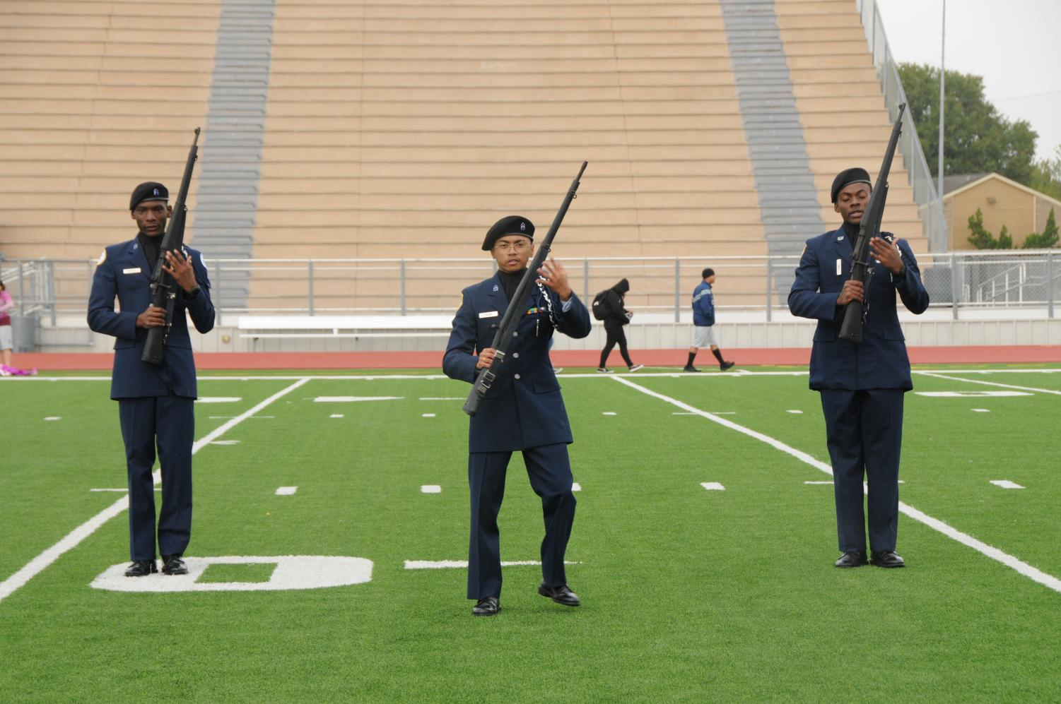 First+Drill+competition
